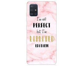 Husa Silicon Soft Upzz Print Samsung Galaxy A51 Model Limited Edition 1