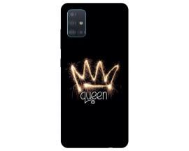 Husa Silicon Soft Upzz Print Samsung Galaxy A71 Model Queen