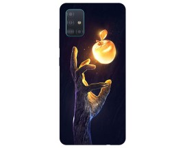 Husa Silicon Soft Upzz Print Samsung Galaxy A71 Model Reach