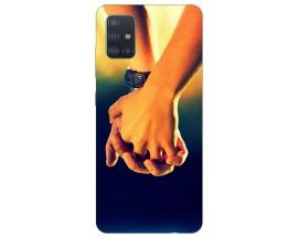 Husa Silicon Soft Upzz Print Samsung Galaxy A71 Model Together