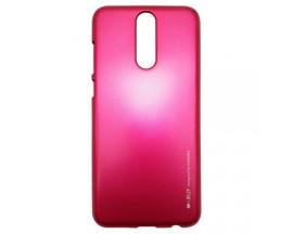 Husa Spate Huawei Mate 10 Lite I-jelly Metal Mercury Roz
