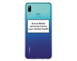 Husa Spate Silicon Upzz Label Huawei P Smart 2019 Model Social