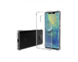 Husa Spate Crystal Clear Thin Fit Huawei Mate 20 Pro Transparenta Cu Tehnologie Air-cushion