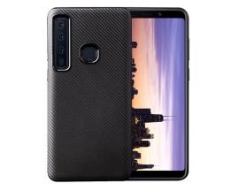 Husa Spate Upzz Carbon Fiber Samsung Galaxy A9 2018 Neagra