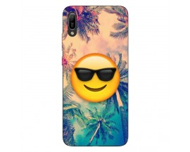 Husa Silicon Soft Upzz Print Huawei Y6 2019 Model Smile