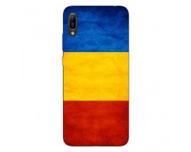 Husa Silicon Soft Upzz Print Huawei Y6 2019 Model Tricolor