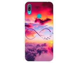 Husa Silicon Soft Upzz Print Huawei Y7 2019 Model Infinity