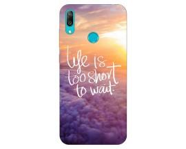 Husa Silicon Soft Upzz Print Huawei Y7 2019 Model Life