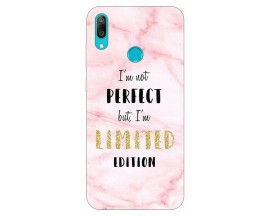 Husa Silicon Soft Upzz Print Huawei Y7 2019 Model Limited Edition 1