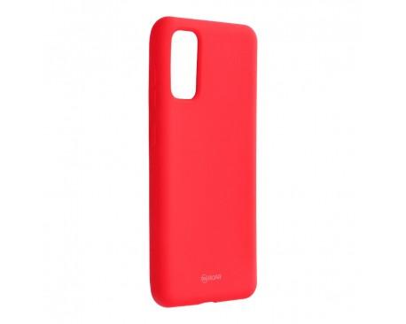 Husa Spate Silicon Roar Jelly Samsung Galaxy S20 Hot Roz