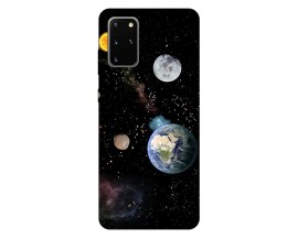 Husa Silicon Soft Upzz Print Samsung Galaxy S20 Plus Model Earth