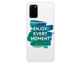 Husa Silicon Soft Upzz Print Samsung Galaxy S20 Plus Model Enjoy