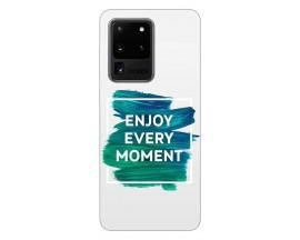 Husa Silicon Soft Upzz Print Samsung Galaxy S20 Ultra Model Enjoy