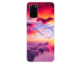 Husa Silicon Soft Upzz Print Samsung Galaxy S20 Plus Model Infinity