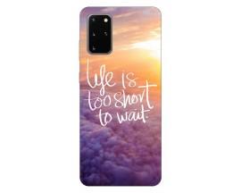 Husa Silicon Soft Upzz Print Samsung Galaxy S20 Plus Model Life