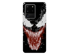 Husa Silicon Soft Upzz Print Samsung Galaxy S20 Ultra Model Monster