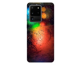 Husa Silicon Soft Upzz Print Samsung Galaxy S20 Ultra Model Multicolor