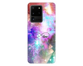 Husa Silicon Soft Upzz Print Samsung Galaxy S20 Ultra Model Neon Love
