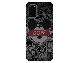 Husa Silicon Soft Upzz Print Samsung Galaxy S20 Model Dope