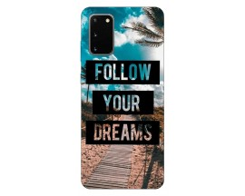 Husa Silicon Soft Upzz Print Samsung Galaxy S20 Model Dreams
