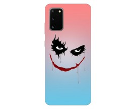 Husa Silicon Soft Upzz Print Samsung Galaxy S20 Model Joker