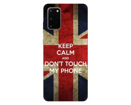 Husa Silicon Soft Upzz Print Samsung Galaxy S20 Model Keep Calm