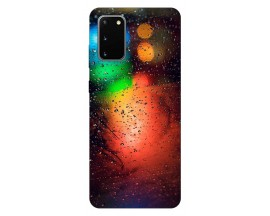 Husa Silicon Soft Upzz Print Samsung Galaxy S20 Model Multicolor