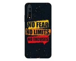 Husa Silicon Soft Upzz Print Huawei Nova 5t Model No Fear