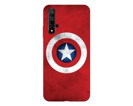 Husa Silicon Soft Upzz Print Huawei Huawei Nova 5T Model Shield 2