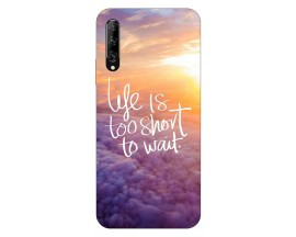 Husa Silicon Soft Upzz Print Huawei P Smart Pro 2019 Model Life