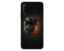 Husa Silicon Soft Upzz Print Huawei P Smart Pro 2019 Model Lion