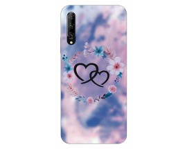 Husa Silicon Soft Upzz Print Huawei P Smart Pro 2019 Model Love