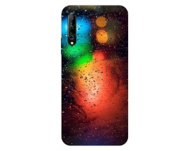 Husa Silicon Soft Upzz Print Huawei P Smart Pro 2019 Model Multicolor