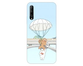 Husa Silicon Soft Upzz Print Huawei P Smart Pro 2019 Model Three Bears
