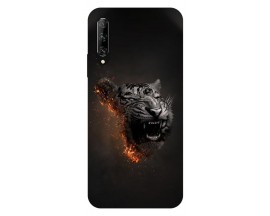 Husa Silicon Soft Upzz Print Huawei P Smart Pro 2019 Model Tiger
