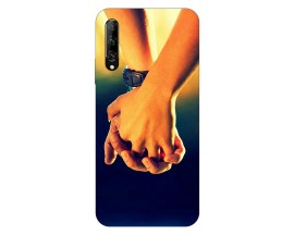 Husa Silicon Soft Upzz Print Huawei P Smart Pro 2019 Model Together