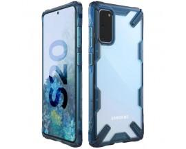 Husa Premium Ringke Fusion X Samsung Galaxy S20 Space Blue