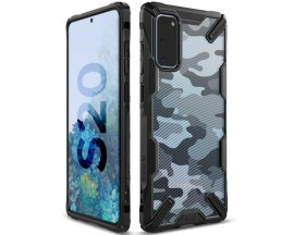 Husa Premium Ringke Fusion X Samsung Galaxy S20 Camo Black