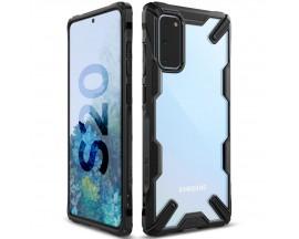 Husa Premium Ringke Fusion X Samsung Galaxy S20 , Negru Transparent