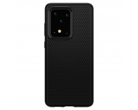 Husa Originala Spigen Liquid Air Samsung Galaxy S20 Ultra, Matte Black