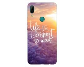 Husa Silicon Soft Upzz Print Huawei P Smart Z Model Life