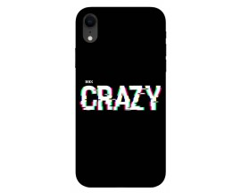 Husa Silicon Soft Upzz Print iPhone Xr Model Crazy