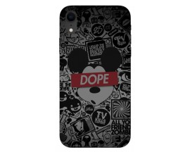 Husa Silicon Soft Upzz Print iPhone Xr Model Dope