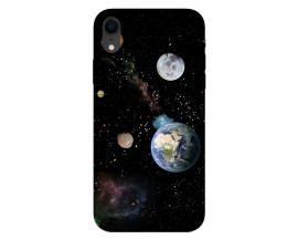 Husa Silicon Soft Upzz Print iPhone Xr Model Earth