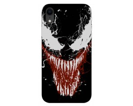 Husa Silicon Soft Upzz Print iPhone Xr Model Monster