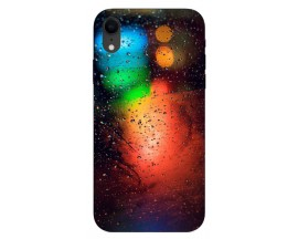 Husa Silicon Soft Upzz Print iPhone Xr Model Multicolor