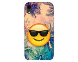 Husa Silicon Soft Upzz Print iPhone Xr Model Smile