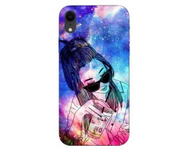 Husa Silicon Soft Upzz Print iPhone Xr Model Universe Girl