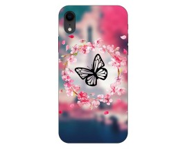 Husa Silicon Soft Upzz Print iPhone Xr Model Butterfly