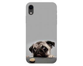 Husa Silicon Soft Upzz Print iPhone Xr Model Dog
